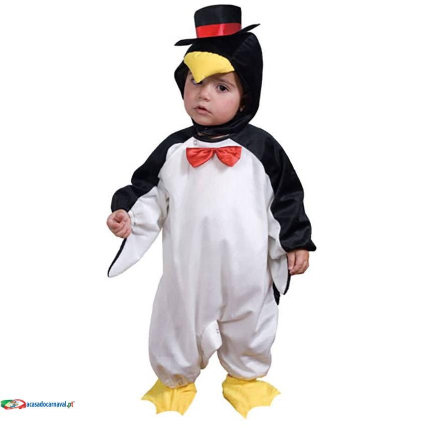 Comprar Fato Pinguim Criança Bebé 822 Acasadocarnaval Pt
