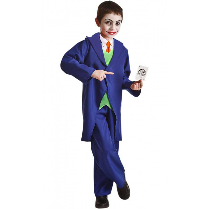 Wonderlijk Fato de Joker Infantil ref 771   A casa do Carnaval.pt YW-99