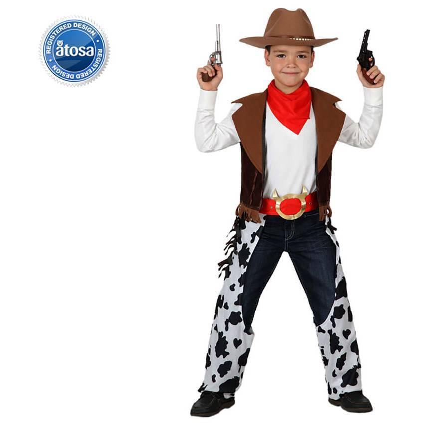 Comprar Fato Cowboy Vaqueiro Malhado Menino 695 ACasaDoCarnaval.pt 74dd093b7ff