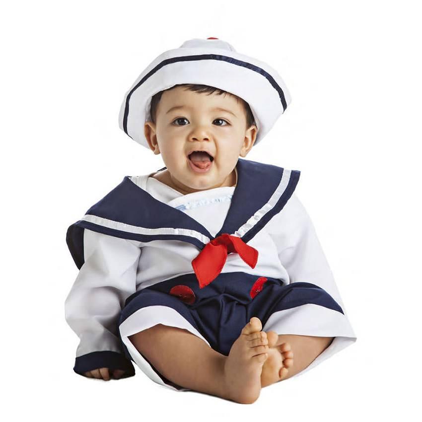 244744edaf29 Fato Marinheiro Bebé 0-6 Meses 632 - ACasaDoCarnaval.pt