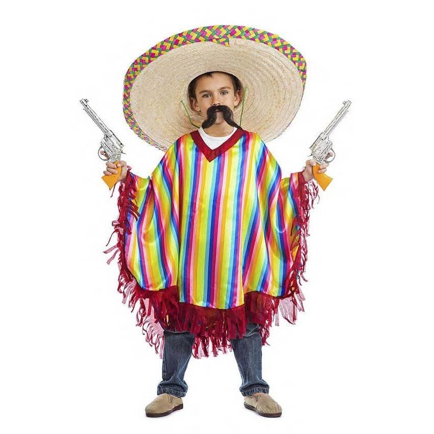 Fato Poncho Mexicano 5-6 Anos 784 - ACasaDoCarnaval.pt 4e2abd41425