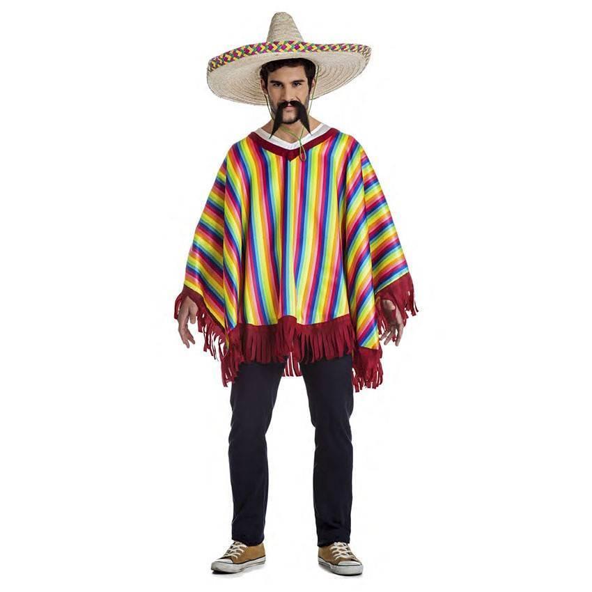 Fato Poncho Mexicano T. M L 180 - ACasaDoCarnaval.pt cea1dfa38f2