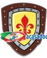 Escudo medieval eva Acessórios para disfarces de Carnaval ou Halloween