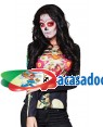 Camisa Foto Realista Katrina Adulto M/L para Carnaval o Halloween   A Casa do Carnaval.pt