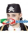 Chapéu de Pirata tipo Lenço (3 Unidades) Loja de Fatos Carnaval, Disfarces, Artigos para Festas, Acessórios de Carnaval, Mascaras Perucas 277 acasadocarnaval.pt