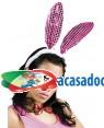 Conjunto de Coelho (2 Unidades), Loja de Fatos Carnaval, Disfarces, Artigos para Festas, Acessórios de Carnaval, Mascaras, Perucas 681 acasadocarnaval.pt