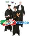 Fato 3 em 1 graduado / padre / juiz, Loja de Fatos Carnaval, Disfarces, Artigos para Festas, Acessórios de Carnaval, Mascaras, Perucas 560 acasadocarnaval.pt