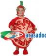 Fato Bebé Tomate, Loja de Fatos Carnaval, Disfarces, Artigos para Festas, Acessórios de Carnaval, Mascaras, Perucas, Chapeus 778 acasadocarnaval.pt