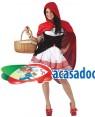 Fato Capuchinho Vermelho Sexy Adulto, Loja de Fatos Carnaval, Disfarces, Artigos para Festas, Acessórios de Carnaval, Mascaras, Perucas 416 acasadocarnaval.pt