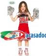 Fato Cheerleader Infantil, Loja de Fatos Carnaval, Disfarces, Artigos para Festas, Acessórios de Carnaval, Mascaras, Perucas, Chapeus 899 acasadocarnaval.pt