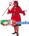 Fato de Demônia Adulto XL para Carnaval | A Casa do Carnaval.pt
