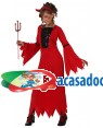 Fato Demonia Diaba Menina, Loja de Fatos Carnaval, Disfarces, Artigos para Festas, Acessórios de Carnaval, Mascaras, Perucas, Chapeus 439 acasadocarnaval.pt