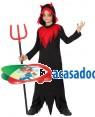 Fato Demonio Niño para Carnaval