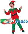 Fato Elfo Criança 70593, Loja de Fatos Carnaval acasadocarnaval.pt, Disfarces, Acessórios de Carnaval, Mascaras, Perucas, Chapeus e Fantasias