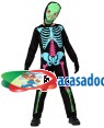 Fato Esqueleto Colorido Menino, Loja de Fatos Carnaval, Disfarces, Artigos para Festas, Acessórios de Carnaval, Mascaras, Perucas 900 acasadocarnaval.pt