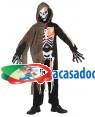 Fato Esqueleto Halloween Menino, Loja de Fatos Carnaval, Disfarces, Artigos para Festas, Acessórios de Carnaval, Mascaras, Perucas 669 acasadocarnaval.pt