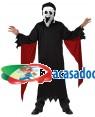 Fato Fantasma Niño De 5 A 6 Años, Loja de Fatos Carnaval, Disfarces, Artigos para Festas, Acessórios de Carnaval, Mascaras, Perucas 808 acasadocarnaval.pt