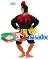 Fato Galo Preto, Loja de Fatos Carnaval, Disfarces, Artigos para Festas, Acessórios de Carnaval, Mascaras, Perucas, Chapeus 726 acasadocarnaval.pt