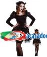 Fato Gótico Lolita para Carnaval ou Halloween 1040 - A Casa do Carnaval.pt