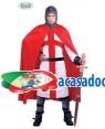 Fato guerreiro cruzado Adulto, Loja de Fatos Carnaval, Disfarces, Artigos para Festas, Acessórios de Carnaval, Mascaras, Perucas, Chapeus 682 acasadocarnaval.pt