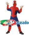 Fato Homem Aranha Criança 85342, Loja de Fatos Carnaval acasadocarnaval.pt, Disfarces, Acessórios de Carnaval, Mascaras, Perucas, Chapeus e Fantasias