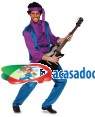 Fato Jimi Hendrix Adulto, Loja de Fatos Carnaval, Disfarces, Artigos para Festas, Acessórios de Carnaval, Mascaras, Perucas, Chapeus 589 acasadocarnaval.pt