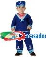 Fato Marinheiro Azul Bebé, Loja de Fatos Carnaval, Disfarces, Artigos para Festas, Acessórios de Carnaval, Mascaras, Perucas, Chapeus 778 acasadocarnaval.pt