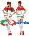 Fato Mexicana Curta Adulto M/L, Loja de Fatos Carnaval, Disfarces, Artigos para Festas, Acessórios de Carnaval, Mascaras, Perucas 486 acasadocarnaval.pt
