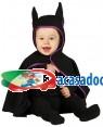 Fato Morcego Escuro para Bebé, Loja de Fatos Carnaval, Disfarces, Artigos para Festas, Acessórios de Carnaval, Mascaras, Perucas 921 acasadocarnaval.pt