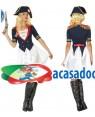 Fato Napoleão Mulher Adulto M/L, Loja de Fatos Carnaval, Disfarces, Artigos para Festas, Acessórios de Carnaval, Mascaras, Perucas 775 acasadocarnaval.pt