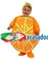 Fato Naranja Bebé T-0-6 Meses, Loja de Fatos Carnaval, Disfarces, Artigos para Festas, Acessórios de Carnaval, Mascaras, Perucas 795 acasadocarnaval.pt