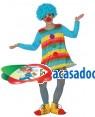 Fato Palhaça Azul Menina, Loja de Fatos Carnaval, Disfarces, Artigos para Festas, Acessórios de Carnaval, Mascaras, Perucas, Chapeus 967 acasadocarnaval.pt