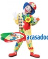 Fato Palhaço Cores Menino 70614, Loja de Fatos Carnaval acasadocarnaval.pt, Disfarces, Acessórios de Carnaval, Mascaras, Perucas, Chapeus e Fantasias