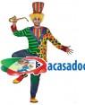 Fato Palhaço Frac Adulto, Loja de Fatos Carnaval, Disfarces, Artigos para Festas, Acessórios de Carnaval, Mascaras, Perucas, Chapeus 824 acasadocarnaval.pt