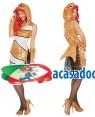 Fato Peixe Mulher Adulto M/L, Loja de Fatos Carnaval, Disfarces, Artigos para Festas, Acessórios de Carnaval, Mascaras, Perucas 800 acasadocarnaval.pt