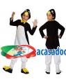 Fato Pinguim com Laço Menino, Loja de Fatos Carnaval, Disfarces, Artigos para Festas, Acessórios de Carnaval, Mascaras, Perucas 426 acasadocarnaval.pt