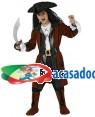 Fato Pirata de Luxo Menino, Loja de Fatos Carnaval, Disfarces, Artigos para Festas, Acessórios de Carnaval, Mascaras, Perucas, Chapeus 369 acasadocarnaval.pt