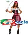 Fato Pirata Rosa para Mulher, Loja de Fatos Carnaval, Disfarces, Artigos para Festas, Acessórios de Carnaval, Mascaras, Perucas 961 acasadocarnaval.pt