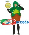 Fato Planta María para Homem, Loja de Fatos Carnaval, Disfarces, Artigos para Festas, Acessórios de Carnaval, Mascaras, Perucas 939 acasadocarnaval.pt