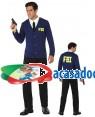 Fato Polícia FBI Homem Adulto M/L, Loja de Fatos Carnaval, Disfarces, Artigos para Festas, Acessórios de Carnaval, Mascaras, Perucas 770 acasadocarnaval.pt