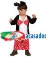 Fato Ratinho Bebé, Loja de Fatos Carnaval, Disfarces, Artigos para Festas, Acessórios de Carnaval, Mascaras, Perucas, Chapeus 313 acasadocarnaval.pt
