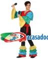 Fato Rumba Rumbeiro Colorido Adulto, Loja de Fatos Carnaval, Disfarces, Artigos para Festas, Acessórios de Carnaval, Mascaras, Perucas 541 acasadocarnaval.pt