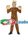 Fato Tigre Criança de 10-12 anos, Loja de Fatos Carnaval, Disfarces, Artigos para Festas, Acessórios de Carnaval, Mascaras, Perucas 395 acasadocarnaval.pt
