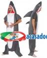 Fato Tubarão Adulto, Loja de Fatos Carnaval, Disfarces, Artigos para Festas, Acessórios de Carnaval, Mascaras, Perucas, Chapeus 261 acasadocarnaval.pt