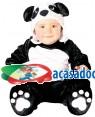 Fato Urso Panda para Bebé, Loja de Fatos Carnaval, Disfarces, Artigos para Festas, Acessórios de Carnaval, Mascaras, Perucas, Chapeus 977 acasadocarnaval.pt
