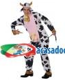 Fato Vaca Badalo Adulto, Loja de Fatos Carnaval, Disfarces, Artigos para Festas, Acessórios de Carnaval, Mascaras, Perucas, Chapeus 662 acasadocarnaval.pt