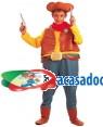 Fato Vaqueiro Menino 70502, Loja de Fatos Carnaval acasadocarnaval.pt, Disfarces, Acessórios de Carnaval, Mascaras, Perucas, Chapeus e Fantasias