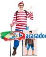 Fato Wally excursionista, Loja de Fatos Carnaval, Disfarces, Artigos para Festas, Acessórios de Carnaval, Mascaras, Perucas, Chapeus 230 acasadocarnaval.pt