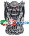 Gárgola com Luz em Olhos 12X13X11cm , Loja de Fatos Carnaval, Disfarces, Artigos para Festas, Acessórios de Carnaval, Mascaras, Perucas 474 acasadocarnaval.pt