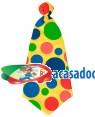 Gravata Palhaço 50X20cm , Loja de Fatos Carnaval, Disfarces, Artigos para Festas, Acessórios de Carnaval, Mascaras, Perucas, Chapeus 548 acasadocarnaval.pt